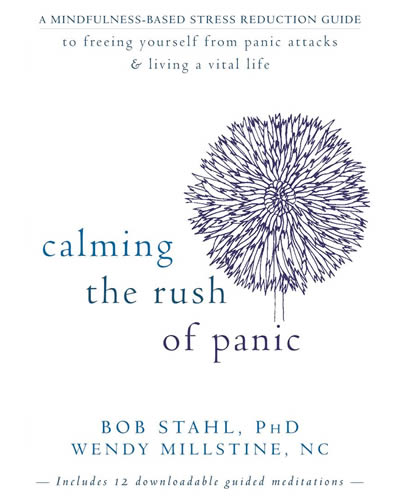 calming rush of panic